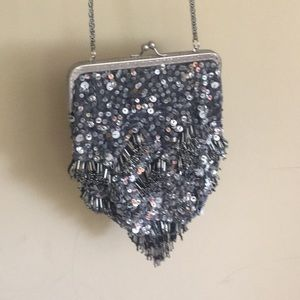 Gorgeous sequin free people purse